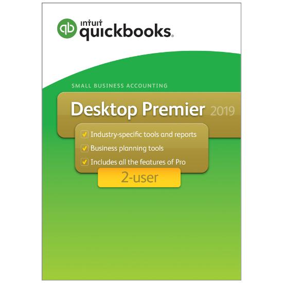 QuickBooks Desktop Premier 2019 - 2 User