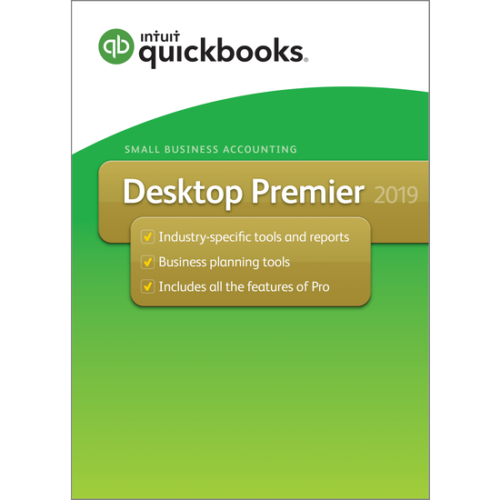 QuickBooks Premier Canadian Version 2019