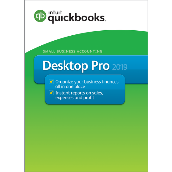 QuickBooks Pro Canadian Version 2019