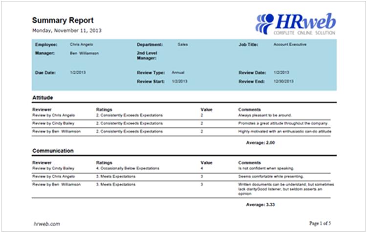 HRweb Online Solution